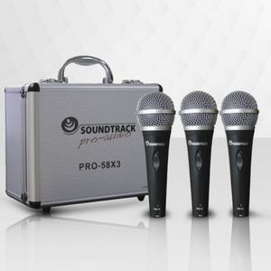 Set of De professional wired microphones. Brand New. Microphone holders and cables included. for Sale in Miami, FL