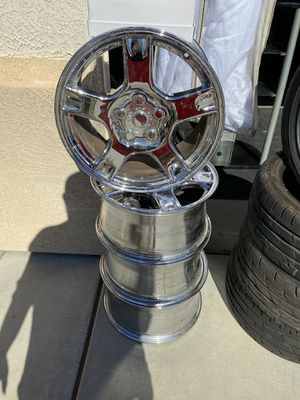 """Rims 17"""" front tires and 18"""" rear for Sale in El Mirage, AZ"""