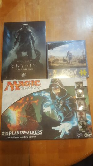 New Magic The Gathering, Skyrim Fallout for Sale in Indianapolis, IN