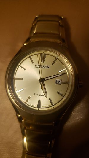 Citizens eco-drive gold watch for Sale in Wichita, KS