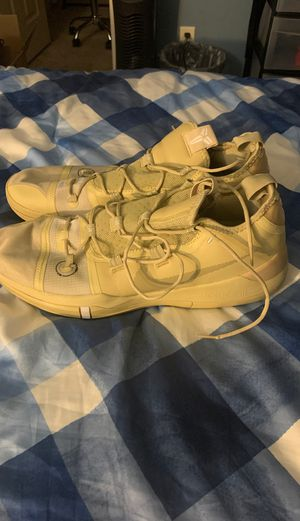 Nike Kobe AD Gold basketball shoes size 17 for Sale in Winston-Salem, NC