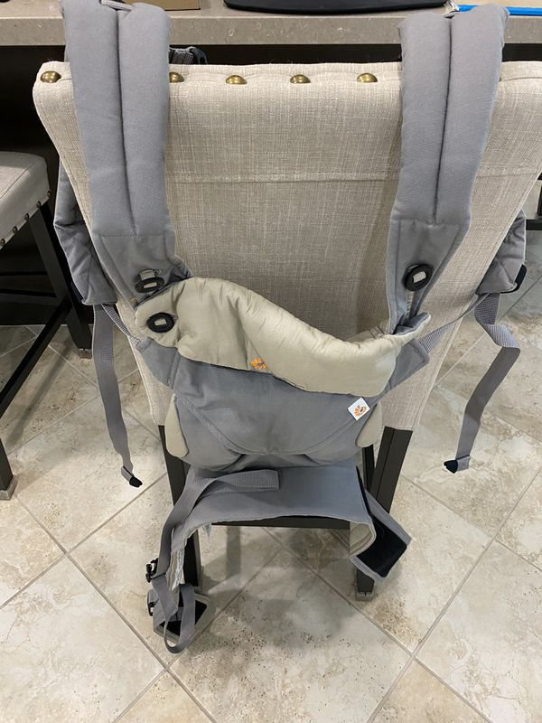 Ergobaby 360 All-Position Baby Carrier with Lumbar Support (12-45 Pounds), Grey