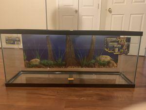 Aquarium - Fish Tank 55 gallon for Sale in Silver Spring, MD