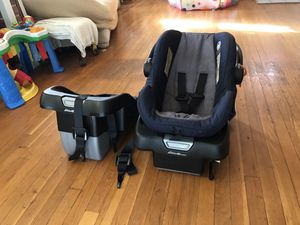 Eddie Bauer Car Seat With extra booster for Sale in Baltimore, MD
