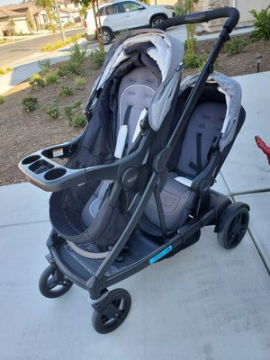 Graco Double Stroller $350 obo for Sale in Canyon Lake, CA
