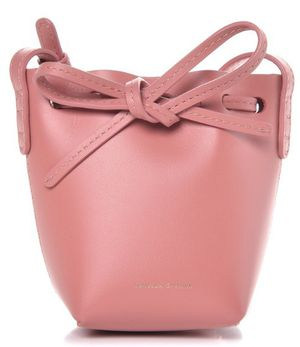 Authentic MANSUR GAVRIEL Calfskin Baby Bucket Bag Blush for Sale in Saint Joseph, MO