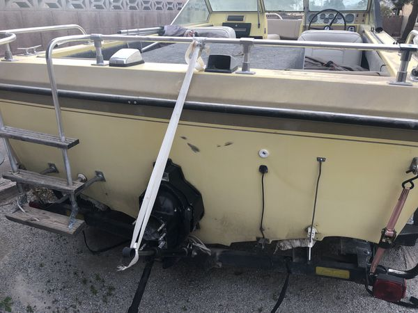 Galaxie Boat and Trailer AS IS