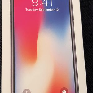 iPhone X 64GB for Sale in Tempe, AZ