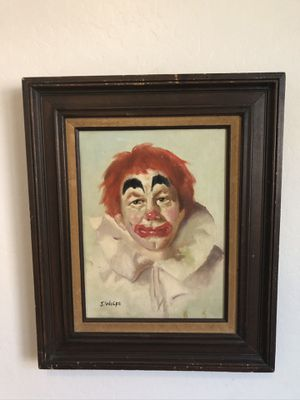 """Clown"" oil on canvas for Sale in Gilbert, AZ"