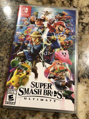 Super Smash Bro's Nintendo switch for Sale in Miami, FL