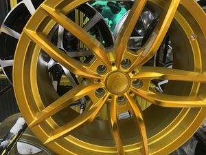 Ipw gold rims 19x8.5/9.5 et35 5-114.3 for Sale in Bronx, NY