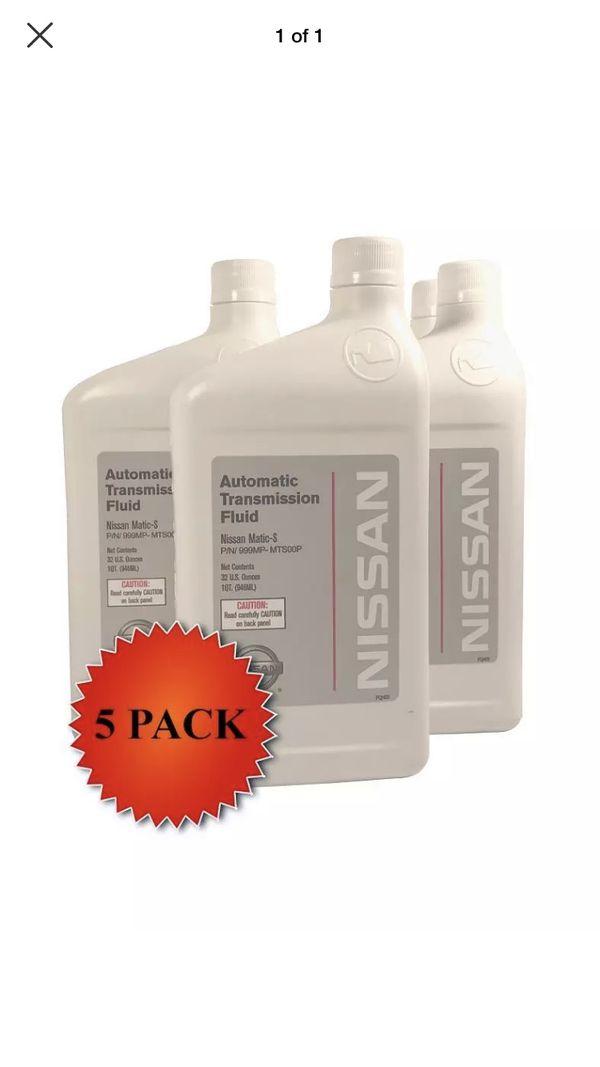 Infiniti oem transmission fluid Metric S and filter kits