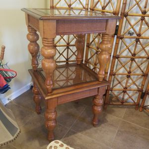 Solid Wood End Tables for Sale in Zephyrhills, FL