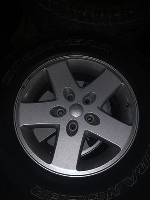 Jeep stock wheels for Sale in Tracy, CA