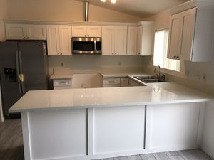 Kitchen cabinets and stone installation for Sale in North Las Vegas, NV