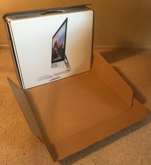 2012 & later Apple Mac iMac 21.5 inch shipping box outer shell for Sale in Tempe, AZ