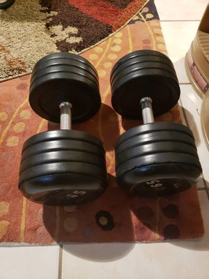 IVANKO 65LBS DUMBBELLS for Sale in Mansfield, TX