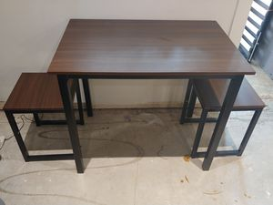 Table & 2 Stools for Sale in Denver, CO
