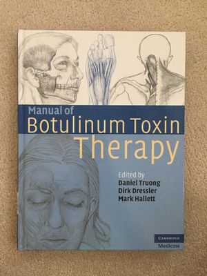 Manual of Botox therapy. Mint condition for Sale in Sacramento, CA