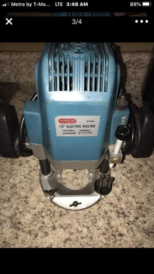 1/2 electric router for Sale in Haines City, FL