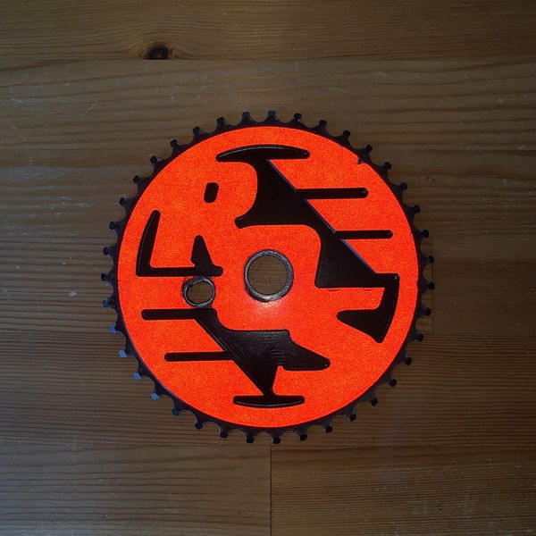 Rideout Supply Reflective Sprocket