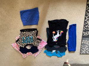 Kids clothes. Sizes 14-16. Majority from Justice (except 1 shirt & skirt from h&m) for Sale in Waite Hill, OH