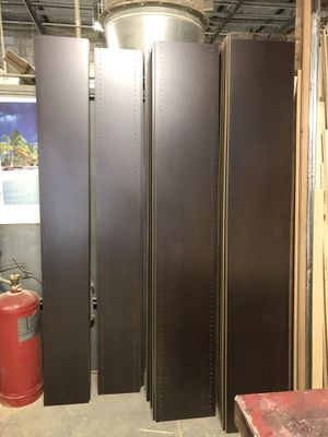 "Closet organizer panels. 12"" and 16"" deep. Drilled and undrilled. 12"" ..$12 ea. 16"" .. $15 ea. 10 pc minimum for Sale in Pompano Beach, FL"