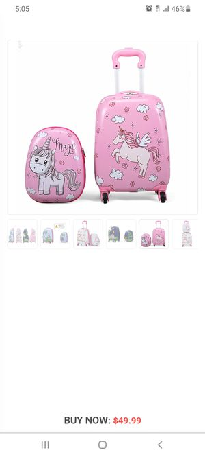 Girls backpack/suitcase for Sale in Fontana, CA