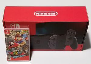 Nintendo Switch V2 + Super Mario Odyssey for Sale in Chelsea, MA
