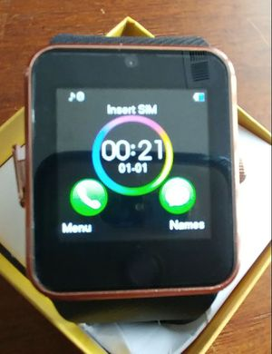 Rose gold smart watch with camera for Sale in Nashville, TN