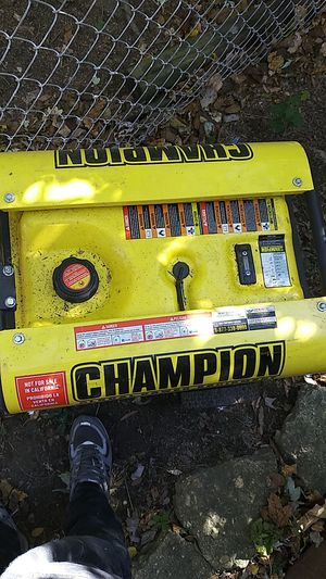 CHAMPION generator for Sale in Temple Hills, MD