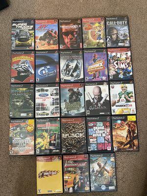 Ps2 games $10 each for Sale in Fresno, CA