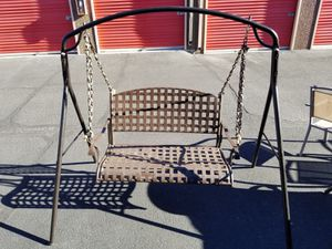 Sturdy well built porch swing for Sale in Fountain Hills, AZ
