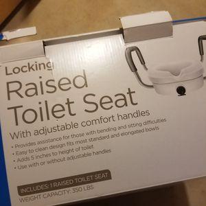 Raised Toilet Seat for Sale in Herndon, VA