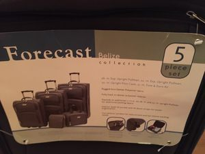5 piece Travel luggage never used for Sale in Chicago, IL
