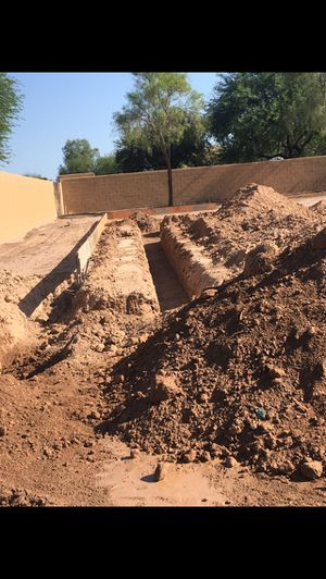RIDICULOUSLY CLEAN TRENCH WORK /dirt work !! for Sale in Phoenix, AZ