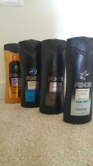 Axe bodywash and shampoo bundle - not negotiable for Sale in Rockville, MD
