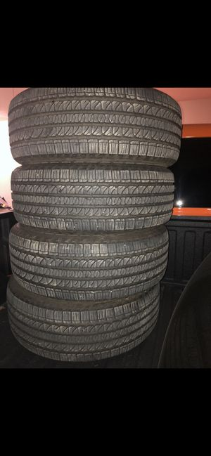 Goodyear tires 265/50/r20 for Sale in Shafter, CA