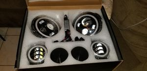 6 PC led headlight projection kit for Sale in Hialeah, FL