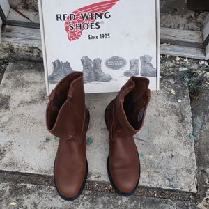 Red wing work boots size 13 for Sale in Homestead, FL