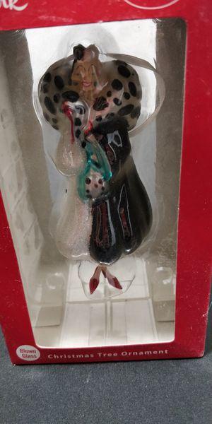 Hallmark Disney Cruella DeVille Ornament in box for Sale in Las Vegas, NV