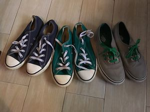 Converse/ Vans boys size 3 $10 each for Sale in West Palm Beach, FL