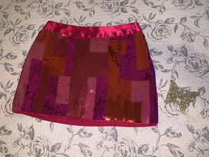 Hot pink Express design studio sequence skirt for Sale in Encinal, TX