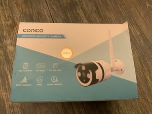 Cónico Smart Security Camera for Sale in Irving, TX