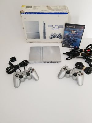 PS2 Playstation 2 Silver Edition for Sale in San Diego, CA