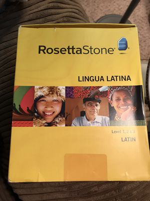 Rosetta Stone Latin for Sale in Rockville, MD