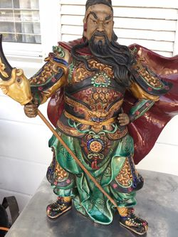 Guan Gong Ancient China Famous Warrior for Sale in Glendora,  CA