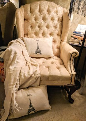 Antique wingback chair for Sale in Portland, OR