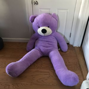 4foot Purple Teddy Bear for Sale in Saugus, MA