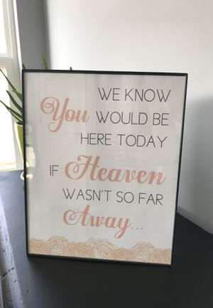 We know you would be here today if heaven wasn't so far away for Sale in Cleveland, OH